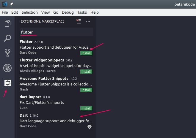 Tutorial Flutter 2 Cara Menggunakan Visual Studio Code Untuk Coding Android Dengan Flutter