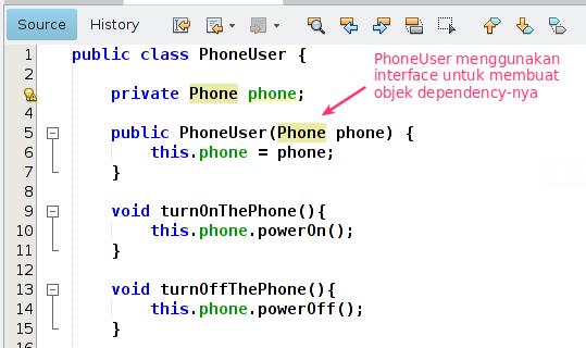 Class PhoneUser