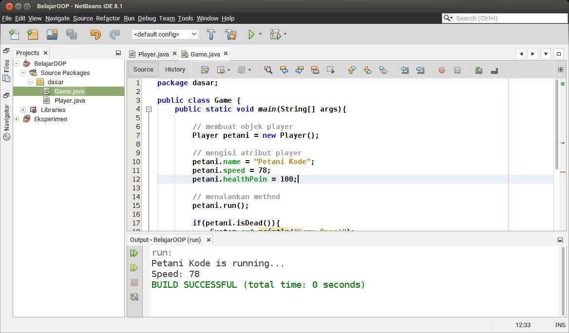 Contoh Program OOP Java