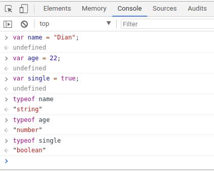 Memahami Variabel Dan Tipe Data Dalam Javascript